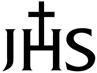 Christogram - Image: IHS with cross