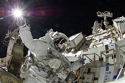 ISS-32 American EVA b6 Sunita Williams