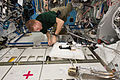 ISS-47 Timothy Peake works on the Water Processor Assembly in the Destiny lab.jpg