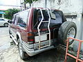 ISUZU, SUV Wine Red Color, (Thai Rung Adventure 2.5) Rear,.jpg