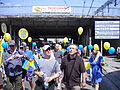 IV Marsz Autonomii pod wiaduktem kolo dworca PKP w Katowicach.jpg
