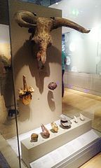 A part of the Paleolithic exhibit