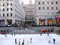 Ice Skate Rink, Rockefeller Center.JPG