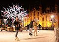 Ice rink on Bruges Grote Markt.jpg