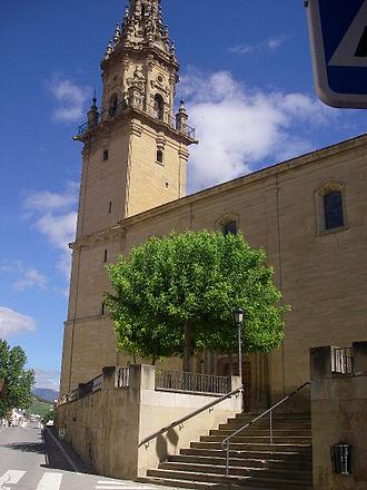 Oyón-Oion - Image: Iglesia de Oyón