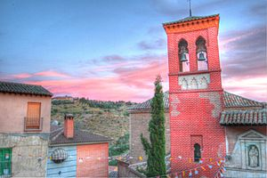 San Cipriano, Toledo - The medieval tower