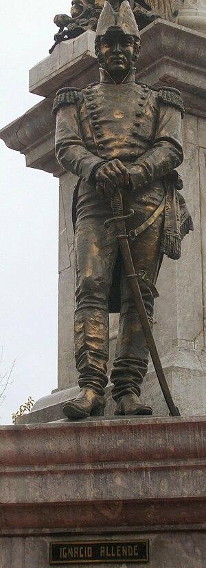 Ignacio Allende - Allende statue in Chihuahua City, Chihuahua