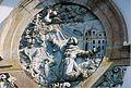 Igreja de São Francisco de Assis, detalhe São Francisco recebe as chagas de Cristo, Ouro Preto, Minas Gerais, Brasil.JPG