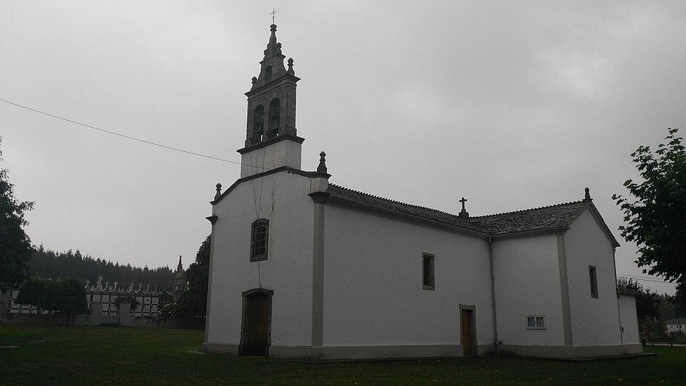 Igrexa Bazar, Castro de Rei