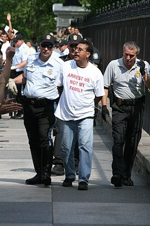 Immigration Reform Leaders Arrested 8