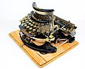 Imperial typewriter model B with Cyrillic letters 02.jpg
