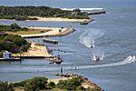 Incoming Boats, Lakes Entrance (6758731953).jpg