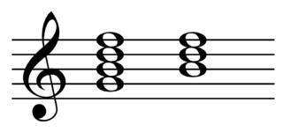 Nondominant seventh chord