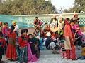 India Delhi familias templo Sikh ni.JPG