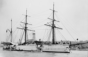 Infanta Isabel an Isabel class cruiser