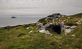 Inishtooskert - Image: Inishtooskert, large Clochaun, Blasket Islands