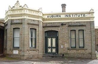 Auburn, South Australia - Image: Institute building, Auburn