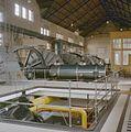 Interieur, machinehal met trap naar kelder met daarin een condensator - Lemmer - 20350296 - RCE.jpg