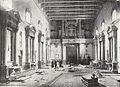 Interno della chiesa all'inizio dei lavori (1902)riquadratoInterno della chiesa all'inizio dei lavori (1902).jpg