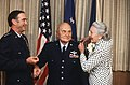 Ira C. Eaker receives his fourth star.jpg