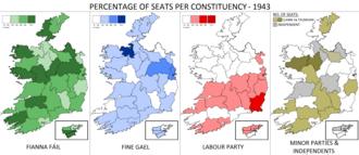 Irish general election, 1943 - Image: Irish general election 1943