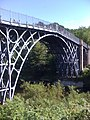 Iron bridge at Ironbridge - geograph.org.uk - 1401228.jpg