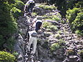 Iron chains on Mt. Ishizuchi.jpg