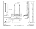 Irvine Presbyterian Church, Irvine, Warren County, PA HABS PA,62-IRV,1- (sheet 6 of 7).png