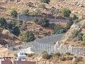 Israel border in Majdal Shams, Golan Heights, 2017 07.jpg