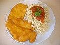 Israeli schnitzel and pasta.jpg