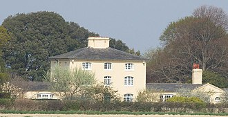 West Itchenor - Itchenor Park House, country retreat of the 3rd and 5th Dukes of Richmond