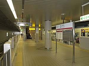 Izumi-Chūō Station (Miyagi) - The platforms