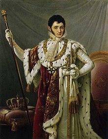 Jérôme als König (um 1810) (Quelle: Wikimedia)
