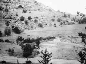J.A.S. Utgrävningsområdet från väster. Ajios Jakovos. utgrävning - SMVK - C02241.tif