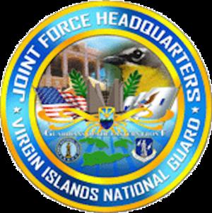 Virgin Islands Air National Guard - Image: JF Virgin Islands National Guard Emblem