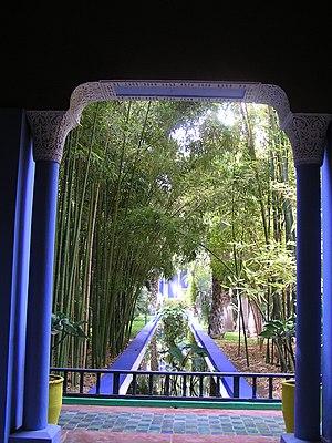 Majorelle Blue - Majorelle Garden, Marrakech