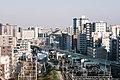 JR East Sobu Line and Tobu Kameido Line heading east from Kameido Station.jpg