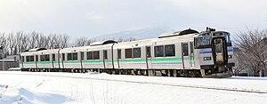 Sasshō Line - Sasshō Line KiHa 201 series DMU, January 2010
