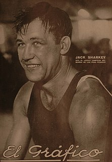 Jack Sharkey American boxer