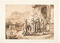 Jacob Receiving Joseph's Blood-Stained Cloak (recto); Study of a Bearded Man and The Sacrifice of Isaac (verso) MET DP124046.jpg
