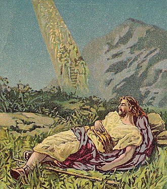 Wish fulfillment - Jacob saw the ladder led to heaven, but Freud might have called it a phallic symbol.