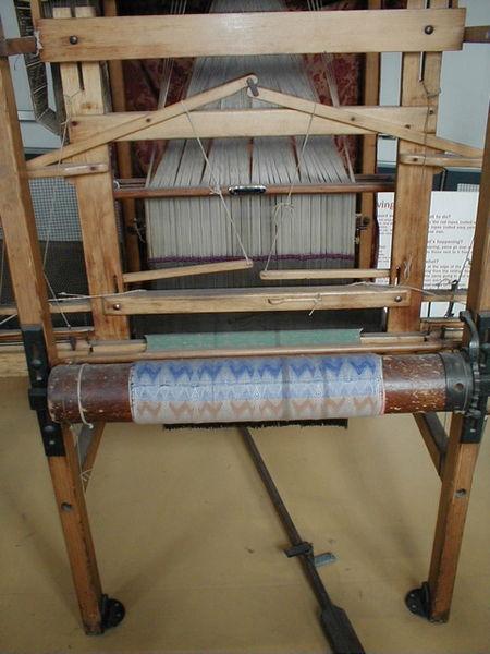 File:Jacquard loom, 4 of 6.jpg - Wikimedia Commons