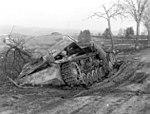 Jagdpanzer IV destroyed by bombing near Dasburg, Germany on January 22, 1945.jpg