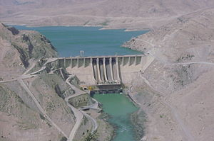 Renewable energy in Afghanistan - Naghlu Hydroelectric Power Station in Kabul Province