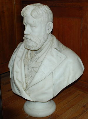 James Carnegie, 9th Earl of Southesk - Bust of the Earl, by William Grant Stevenson