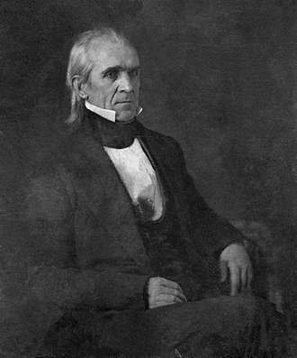 James K. Polk - Daguerreotype of Polk attributed to Mathew Brady, 1849