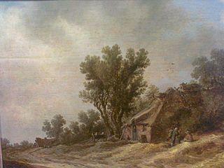 Paysage à la cabane