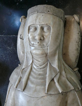 Joan II of Navarre - Bust in the Louvre, originally from the Jacobin convent which housed Joan's heart