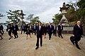 Japanese Foreign Minister Kishida Leads Secretary Kerry on a Walking Tour of the walking tour of the Itsukishima Shrine (26252135112).jpg