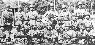 Japanese marine paratroopers of World War II